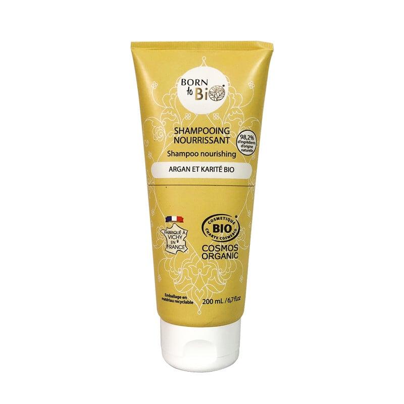 Dầu gội hữu cơ dành cho tóc khô Born to Bio 200ml