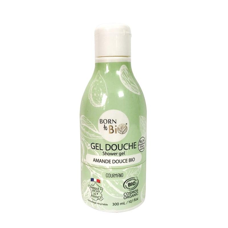 Sữa tắm hữu cơ hương hạnh nhân ngọt Born to Bio 300ml