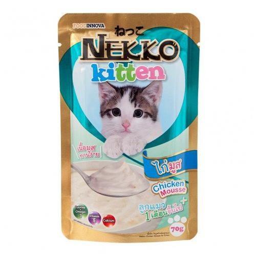 Pate Nekko cho mèo con gói 70g