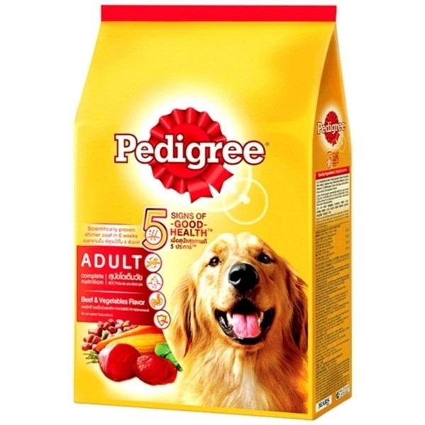 Hạt Pedigree chó lớn vị bò và rau củ