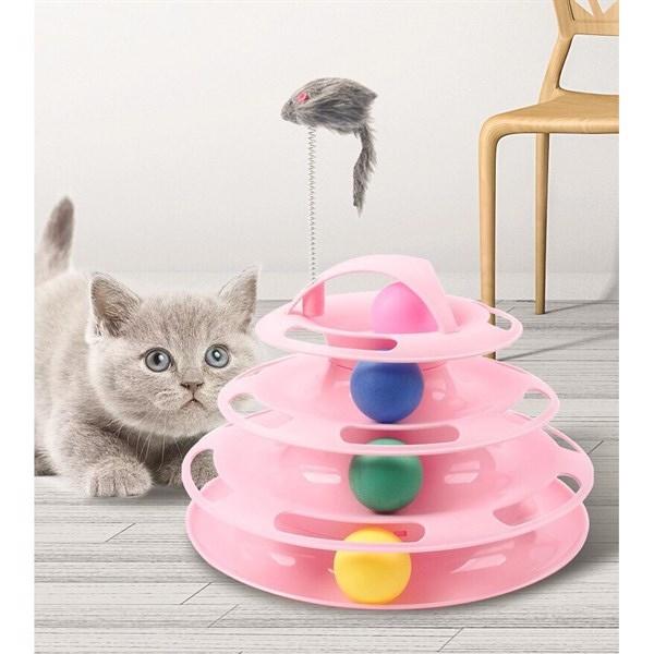 Đồ chơi tháp banh cho mèo JJFC2050