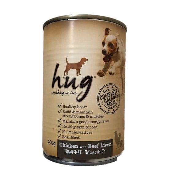 Pate Hug cho chó lon 400g
