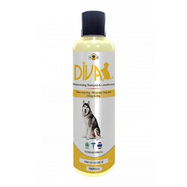 Sữa tắm chó mèo DIVA Vàng