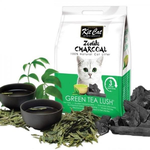 Cát than hoạt tính Kit Cat Zeolite Charcoal 4Kg