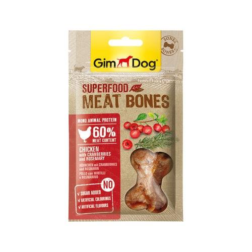 Bánh thưởng Gimdog Superfood Meat Bones gói 70g