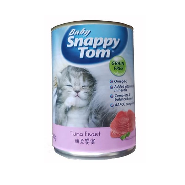 Pate Baby Snappy Tom cho mèo con 150g