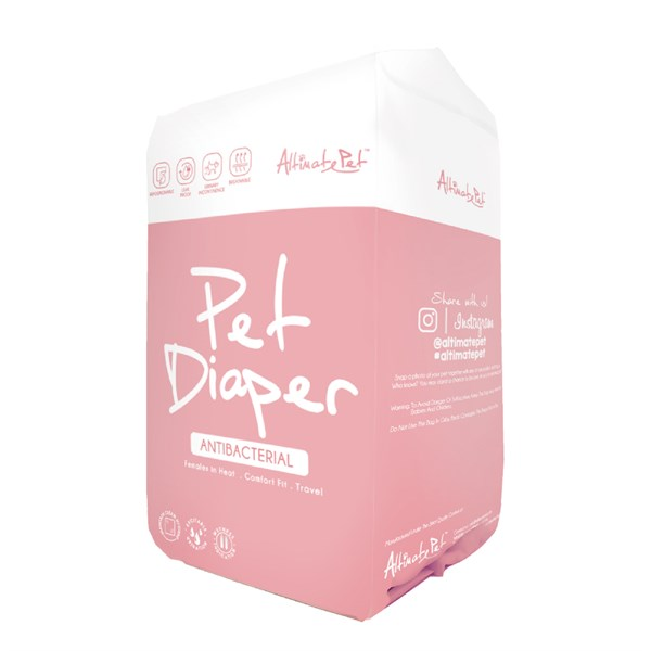 Tã quần Pet Diaper Antibacterial cho chó