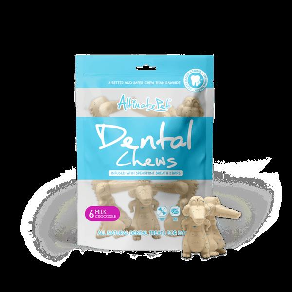 Xương gặm sạch răng cho chó Altimate Pet Dental Chews Sữa