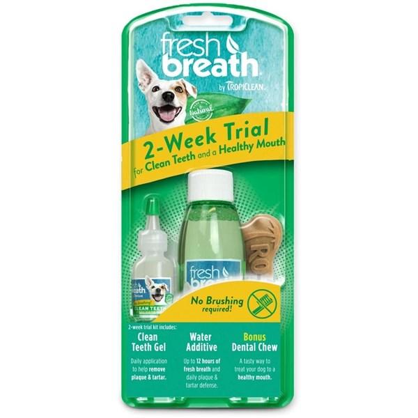 Bộ chăm sóc răng miệng Tropiclean Fresh Breath