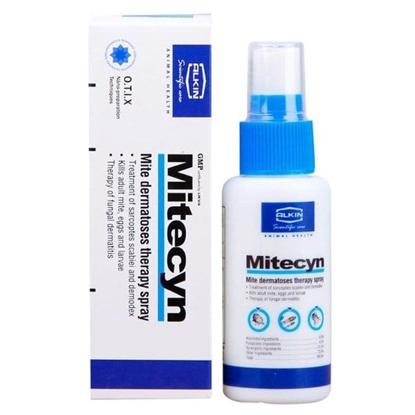 Thuốc xịt trị ghẻ nấm Alkin Mitecyn 50ml