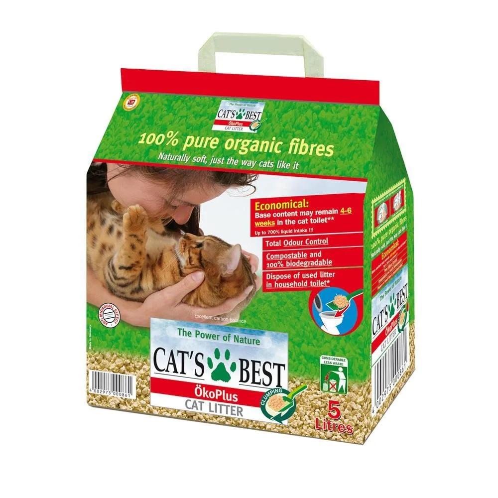 Cát hữu cơ vệ sinh cho mèo Cat
