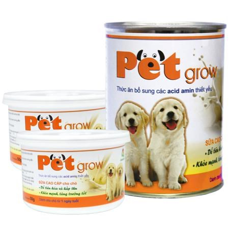 Sữa Pet Grow dành cho chó con