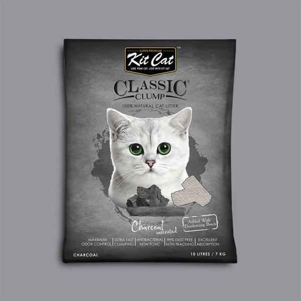 Cát sỏi vón cục Kit Cat Bentonite 10L