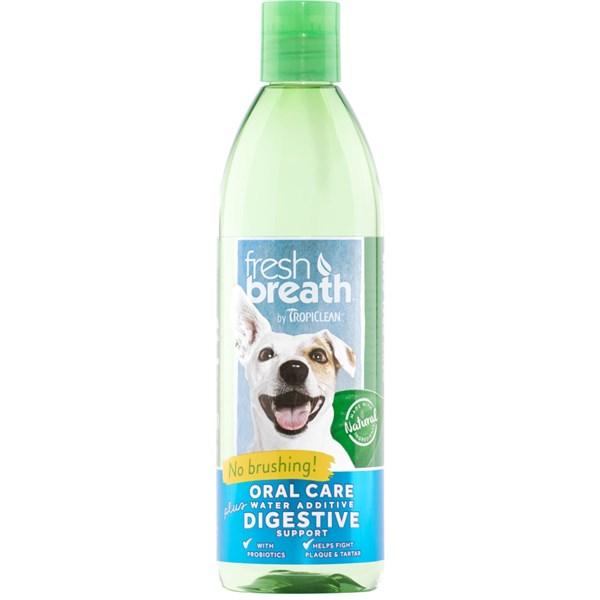 Nước vệ sinh răng miệng cho chó Tropiclean Water Additive 473ml