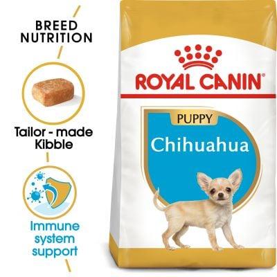 Hạt Royal Canin Chihuahua Puppy cho Chihuahua dưới 8 tháng tuổi