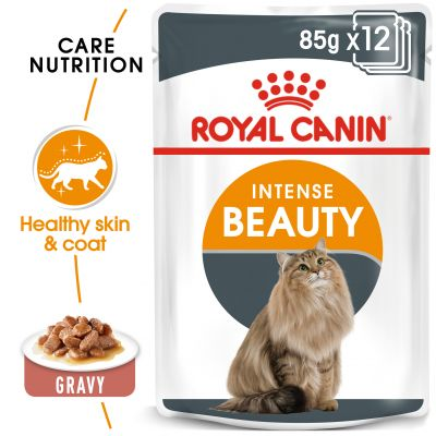 Pate Royal Canin Intense Beauty dưỡng da lông cho mèo 85g