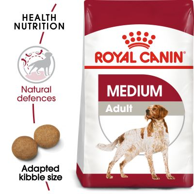 Hạt Royal Canin Medium Adult cho giống chó trung trên 12 tháng tuổi