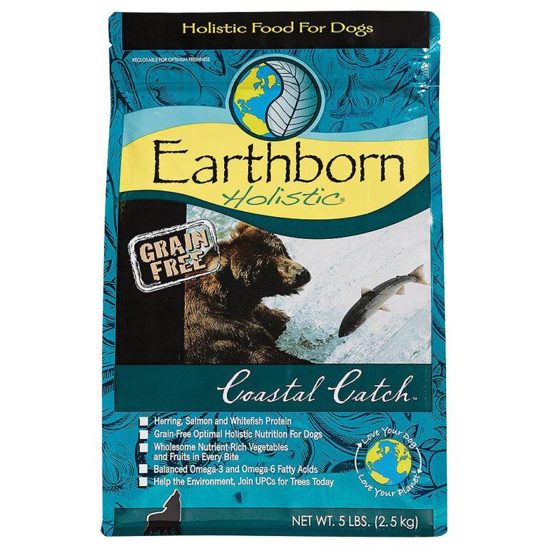 Hạt Earthborn Holistic Coastal Catch Grain Free cho chó 2,5kg