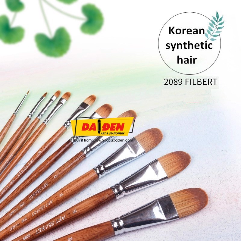 Cọ Vẽ Đầu Oval Art Secret 2089 Filbert