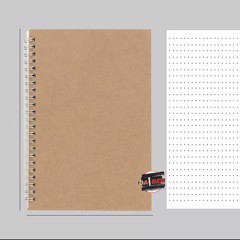 Sổ NoteBook Giấy Dot A5 50 Sheet