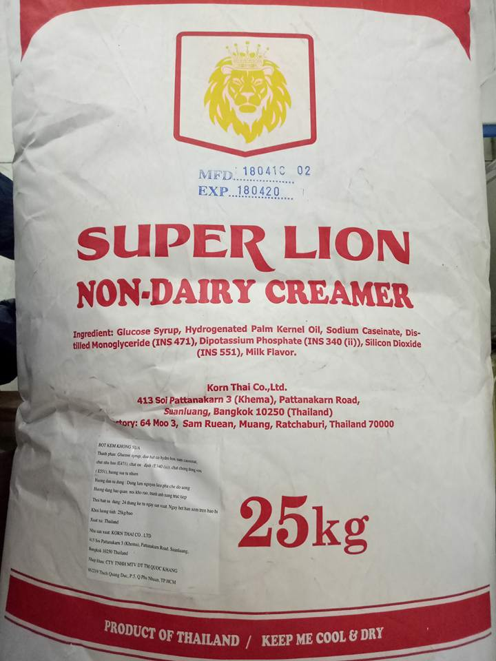 Bột sữa Singapore Super Lion 25 kg