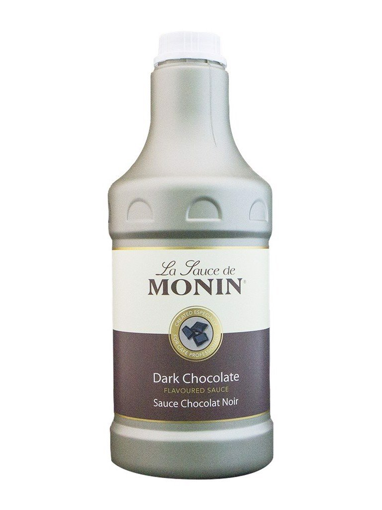 Sauce Monin chocolate đen dark 1.89 lít