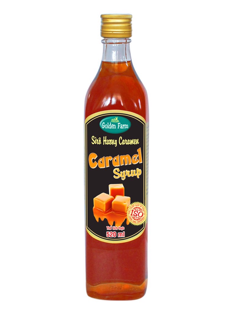 Sirô Golden Farm caramel 520 ml