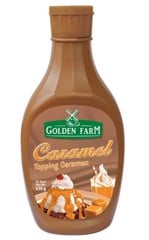 Sauce Golden Farm caramel