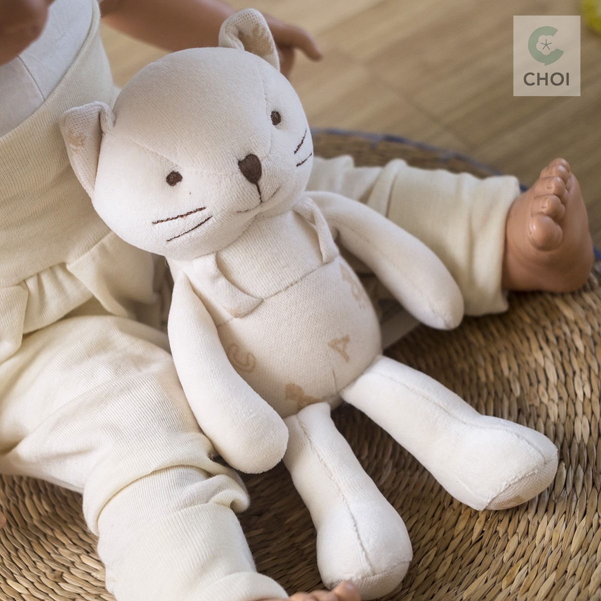 JOHN N TREE Lovely Kitty baby first friend 30cm