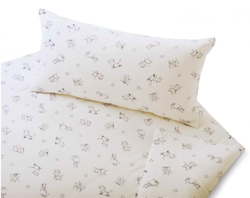 COTONEA Satin Children Bedding Leon & Mia