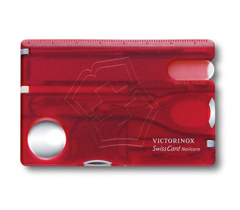Bộ Victorinox SwissCard Nailcare (Red)