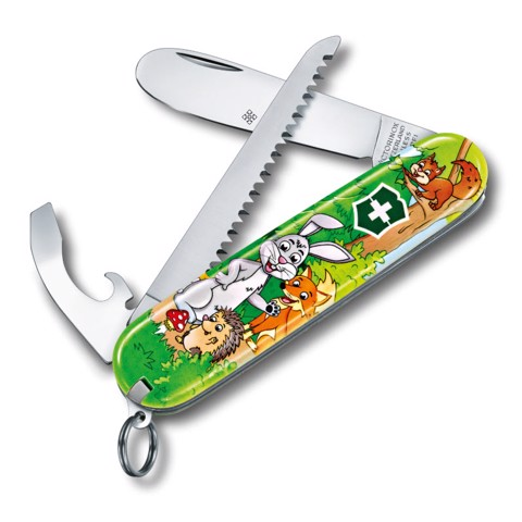 Dao xếp đa năng MY FIRST VICTORINOX COLORFUL SET FOR CHILDREN Rabbit Edition 0.2373.E2