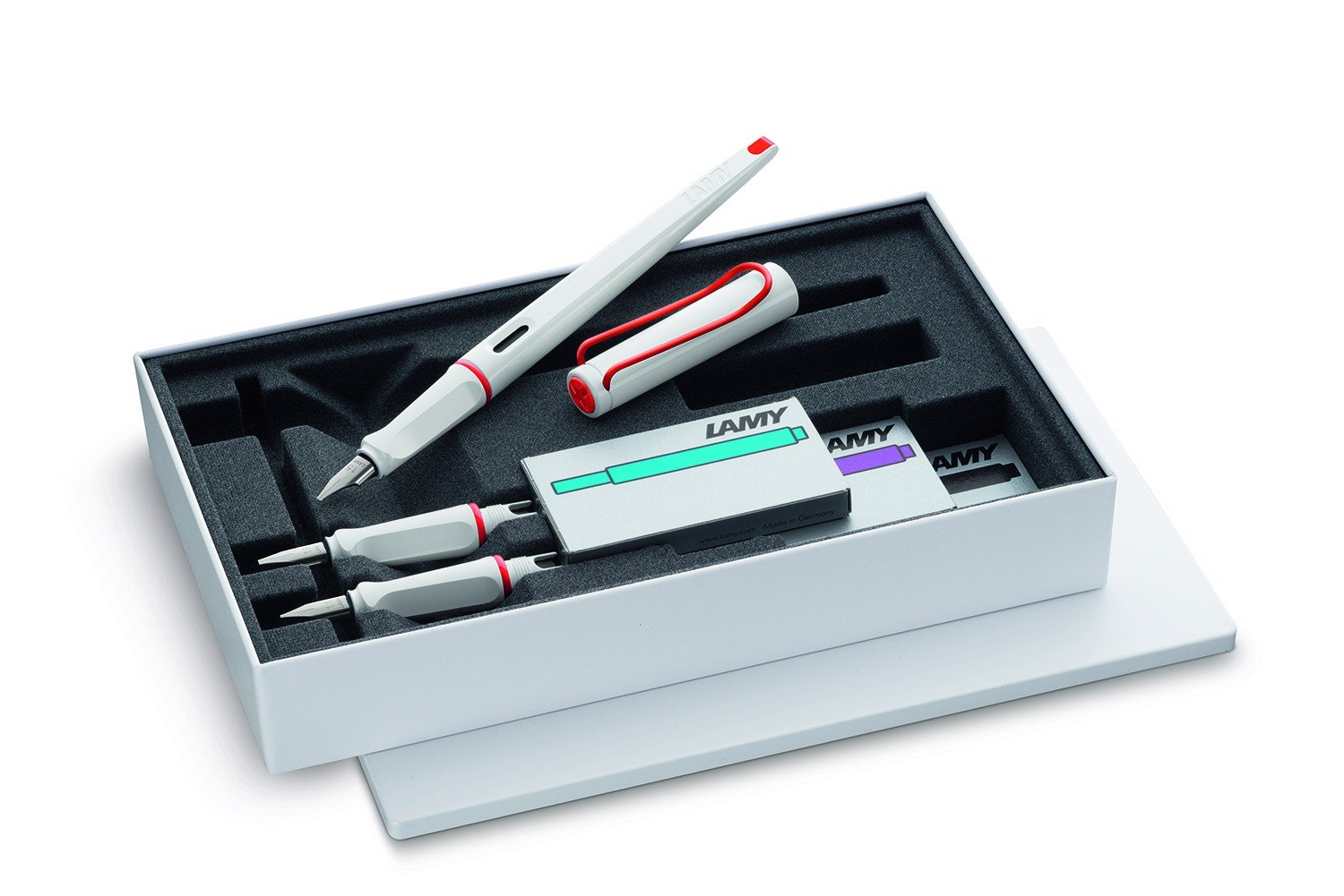 LAMY Joy Gift Set White + Red (Special Edition)