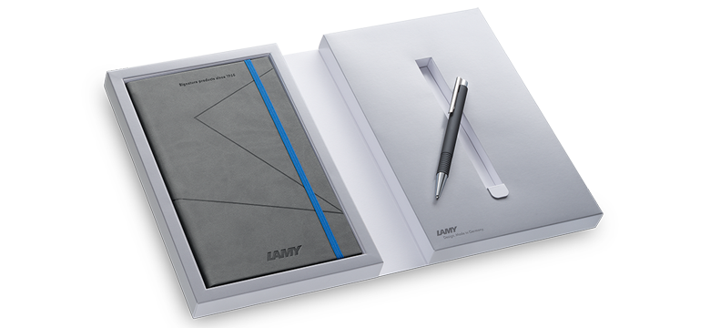 Lamy logo M+ limited set notebook pen (2017)