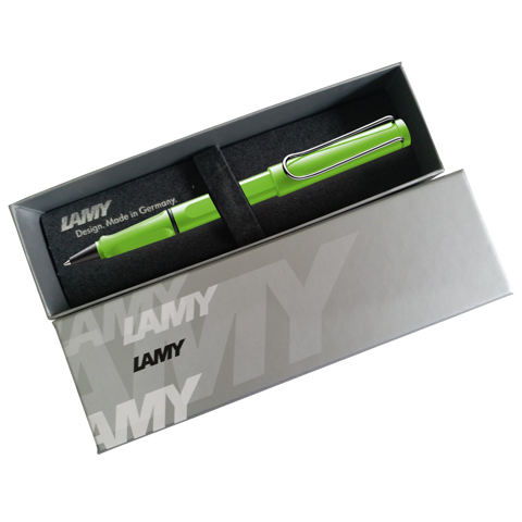Bút bi nước LAMY Safari Green Apple
