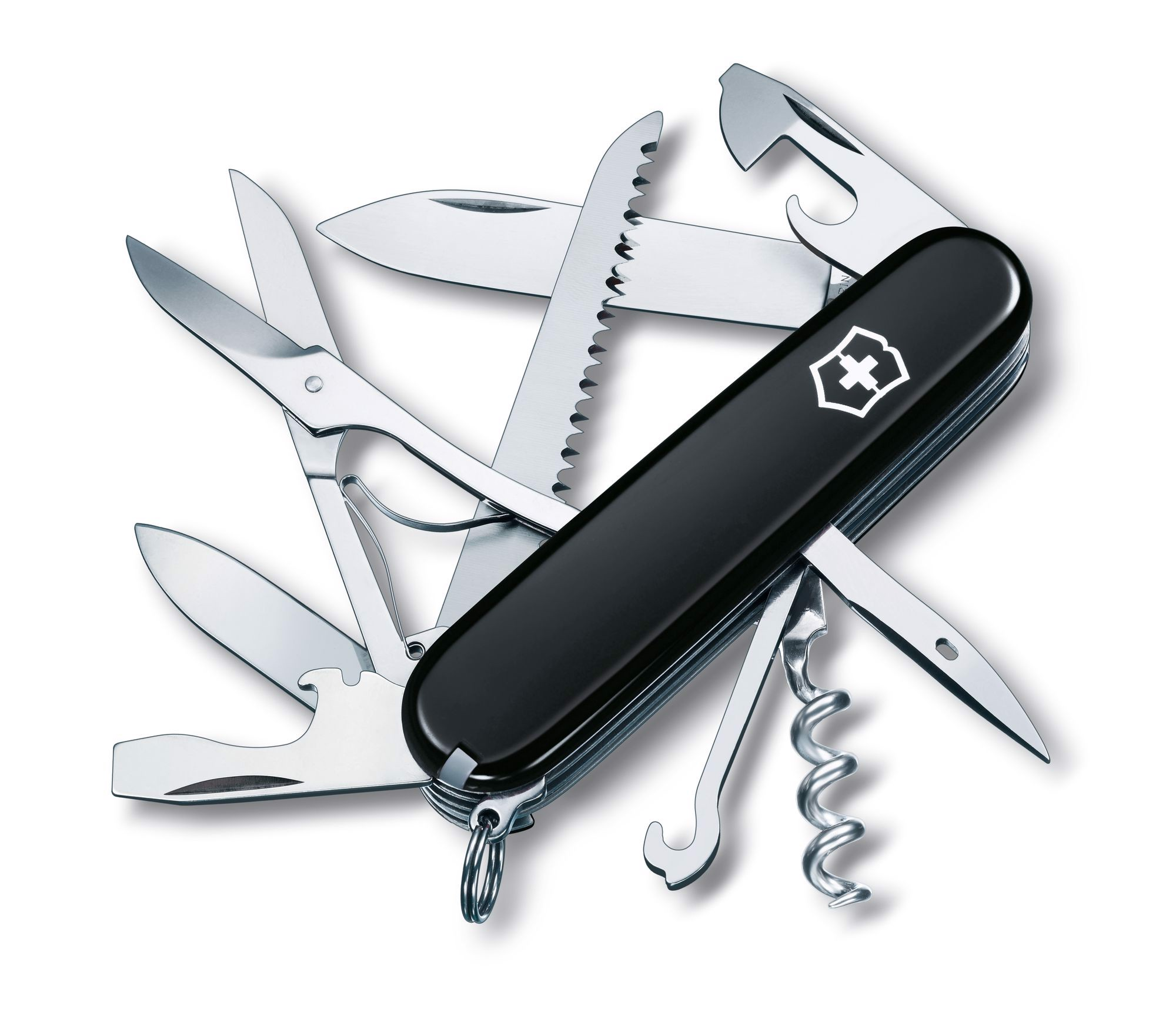 Dao xếp Victorinox Huntsman Black (91mm)