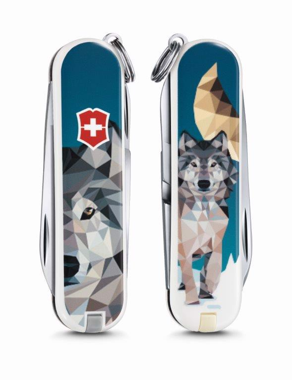 Dao xếp đa năng Victorinox The Wolf is coming home