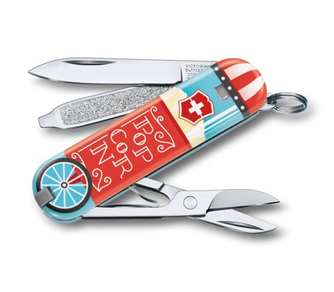 Dao xếp VICTORINOX Classic LE 2019 «Let It Pop!»
