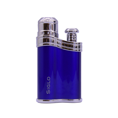Bật lửa Siglo Bean shape lighter blue
