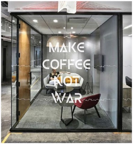 #TD097 Make coffee not war