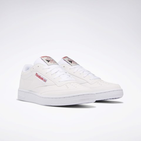 Reebok Club Classic 85 Men's Shoes WHITE