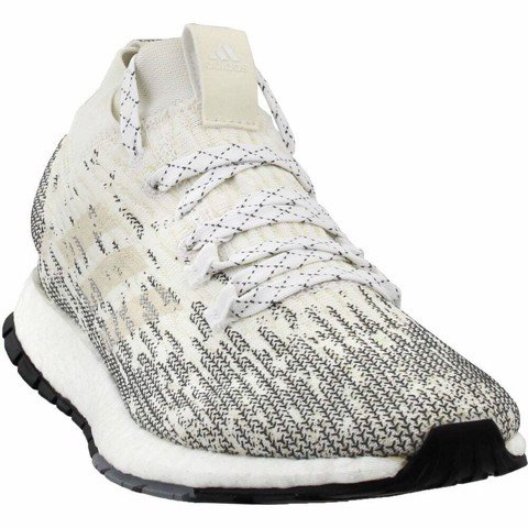 Adidas Pureboost RBL Casual Running Shoes - White - Mens