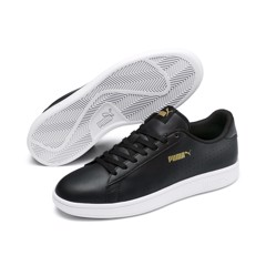 PUMA Smash v2 Leather Perf - Black
