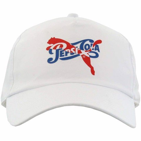 Puma Pepsi Baseball Cap II Casual Hats White Mens