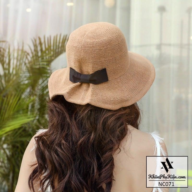 Mua nón cói nữ nào đẹp nhất giúp bạn gái tự tin?
