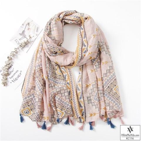 khăn quàng cổ hcm màu sắc ấm áp