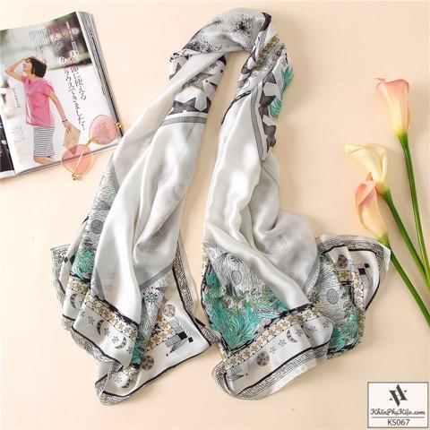 Các mẫu khăn lụa quàng cổ của shop Khăn Phụ Kiện
