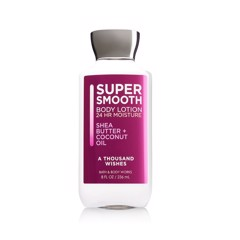Sữa Dưỡng Thể Bath And Body Works Super Smooth Body Lotion A Thousand Wishes