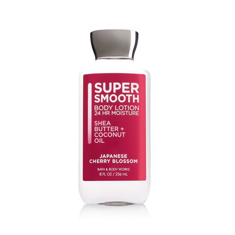 Sữa Dưỡng Thể Bath And Body Works Super Smooth Body Lotion Japanese Cherry Blossom