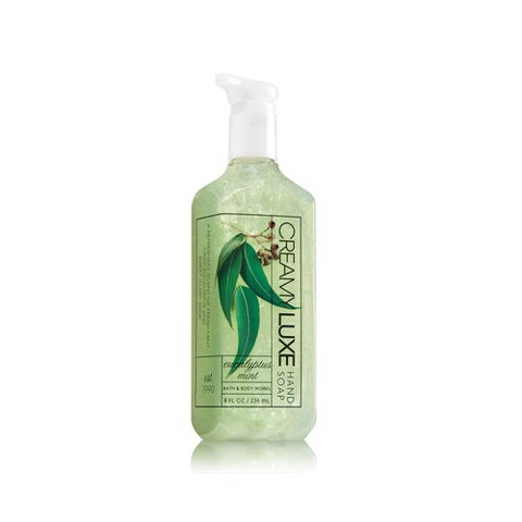 Nước Rửa Tay Bath & Body Works Hand Soap 259ml Eucalyptus Mint Creamy Luxe